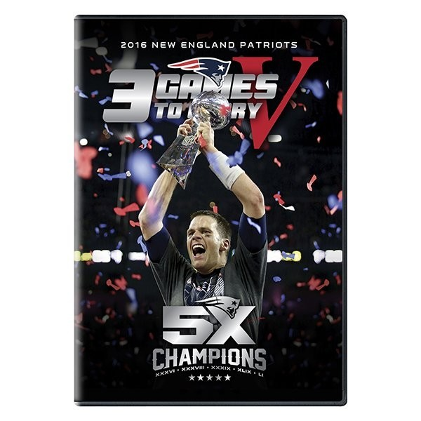 3 Games To Glory 5 DVD