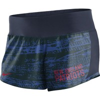 Ladies Nike Crew Shorts-Navy