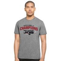 Super Bowl LI Champions/Do Your Job Tee-Gray