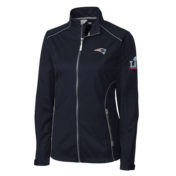 reputable site 9fcba c3875 Ladies Super Bowl LI Opening Day Jacket-Navy - Patriots ProShop