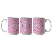 Patriots Sublimated Coffee Mug-Pink