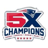 5X Champions Raised Emblem