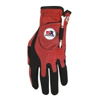 5X Champs Golf Glove-Red