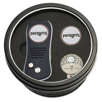 Golf Tin Set-Divot Tool, Cap Clip, Ball Marker