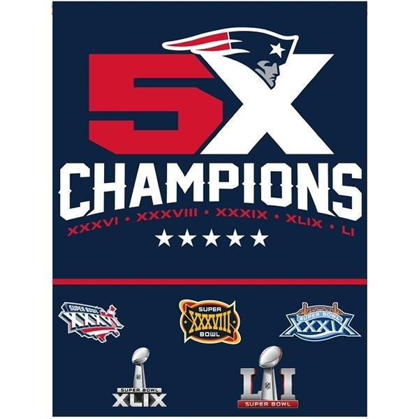 5X Champs Vertical Flag
