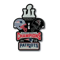 Super Bowl LI Champions Large Lapel Pin