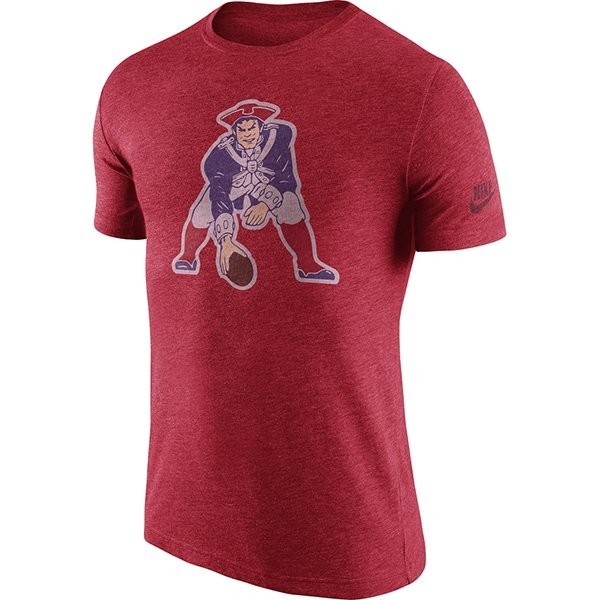 e4c64cb2ef6 Nike Historic Throwback Tee-Red - Patriots ProShop