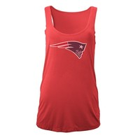 Junior Ladies Washed Tank-Red