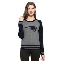 Ladies '47 NEPS Sweater-Gray/Navy