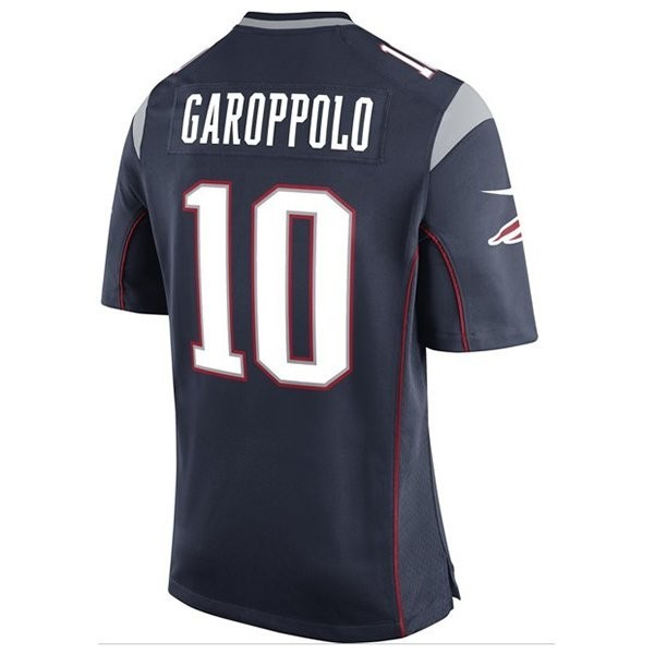 promo code 044ab b43c7 Youth Jimmy Garoppolo Game Jersey-Navy - Patriots ProShop