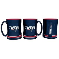 Do Your Job Sculpted Mug-Navy