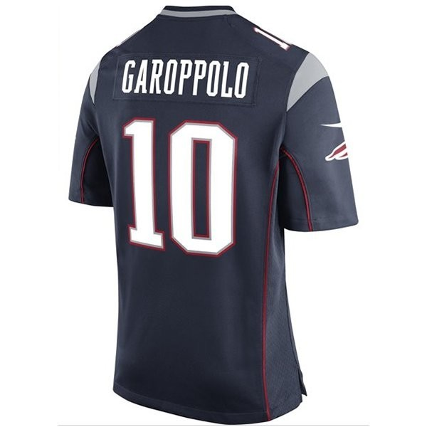 new product b2b01 d37d5 Nike Jimmy Garoppolo #10 Game Jersey-Navy - Patriots ProShop