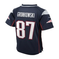 Preschool Nike Rob Gronkowski Game Jersey-Navy