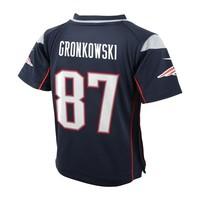 Preschool Nike Rob Gronkowski Game Jersey-Navy
