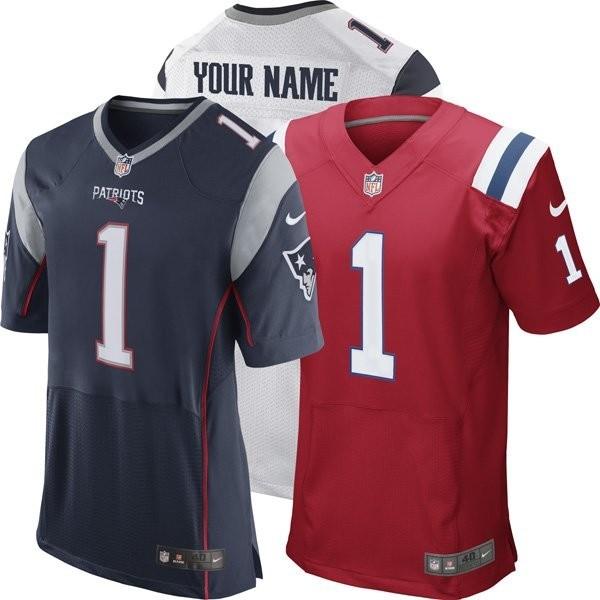 Nike Elite Customized Jerseys - Patriots ProShop 320f8c0ea