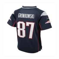 Infant Nike Rob Gronkowski Game Jersey-Navy