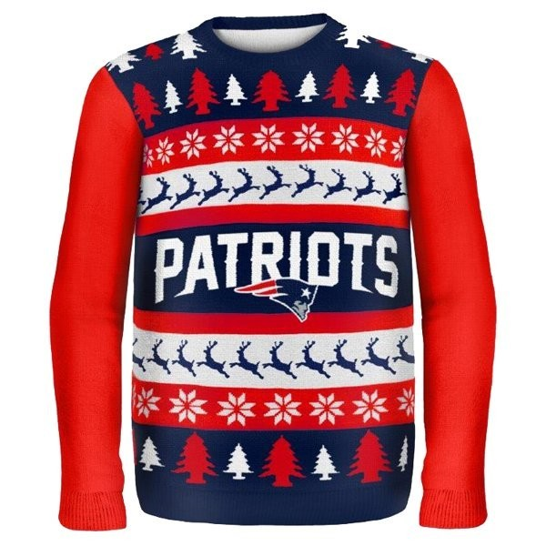 the best attitude fe759 d9ce6 Patriots One Too Many Ugly Sweater