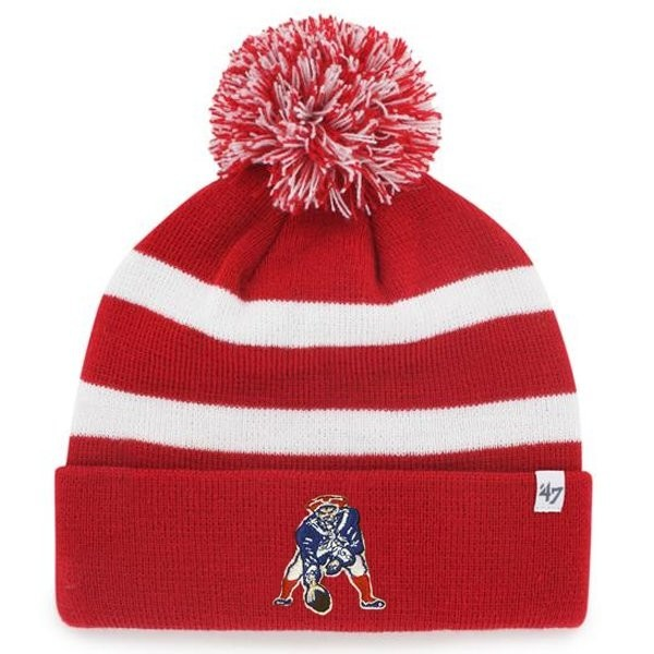1168328944d0a Throwback  47 Breakaway Knit-Red White - Patriots ProShop