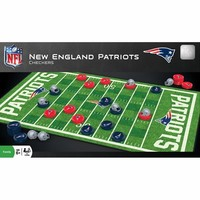 Patriots Football Field Checkers Game