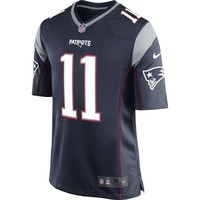 Nike Drew Bledsoe #11 Game Jersey-Navy