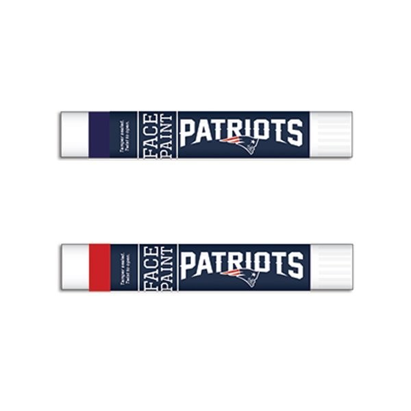 Patriots Face Paint-2pk