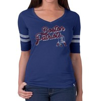 Ladies '47 Throwback Flanker Tee-Blue