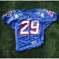 1997 Derrick Cullors Game Worn #29 Royal Jersey