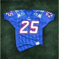 1996 Larry Whigham Team Issued #25 Royal Jersey