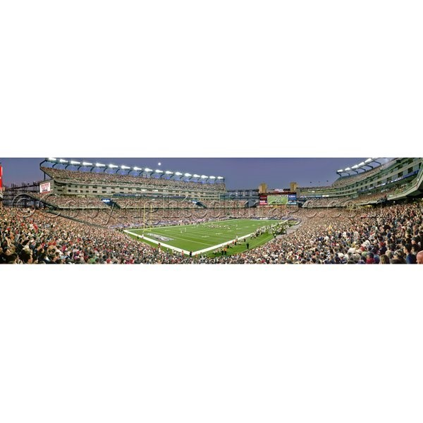 Moon Over Gillette Panoramic