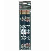 Patriots Pencils 6-Pack