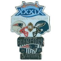 Super Bowl XXXIX Commemorative Pin