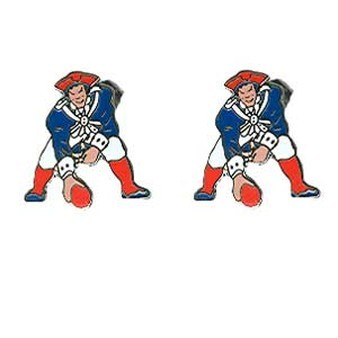 Patriots Throwback Earrings