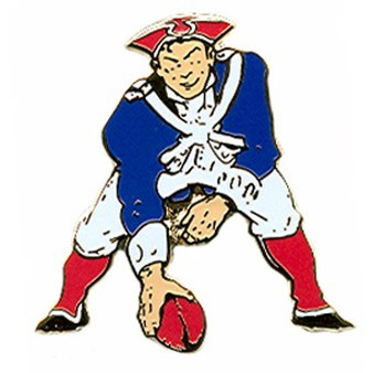 Pat Patriot Throwback Pin