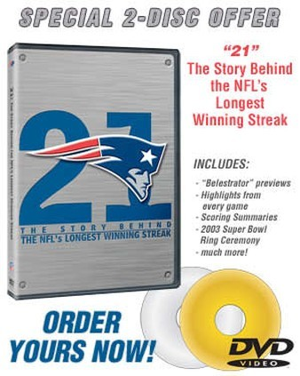 Winning streak dvd