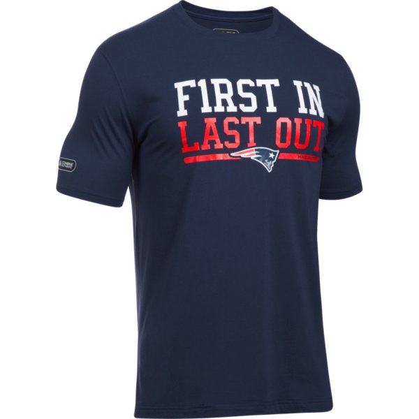 NFL Combine First In Tee-Navy