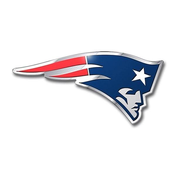 Patriots aluminum color emblem