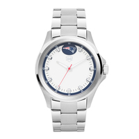 Jack Mason Sport Silver Watch
