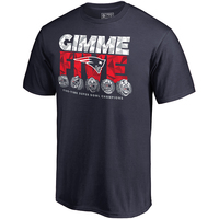 Fanatics Gimme' Five Rings Tee-Navy