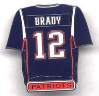Brady Jersey Pin