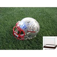 Autographed Malcolm Mitchell SB LI Mini Helmet w/ Case