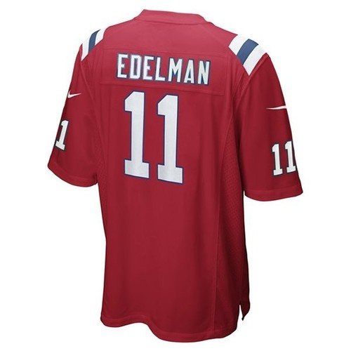 Youth nike julian edelman throwback jersey red