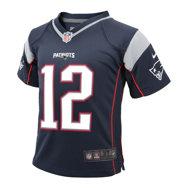 438f9851dc9 Toddler Nike Tom Brady Jersey-Navy - Patriots ProShop