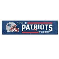 Patriots 8ft.x 2ft. Banner
