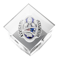 Super Bowl LI Champions Ring  Acrylic Cube