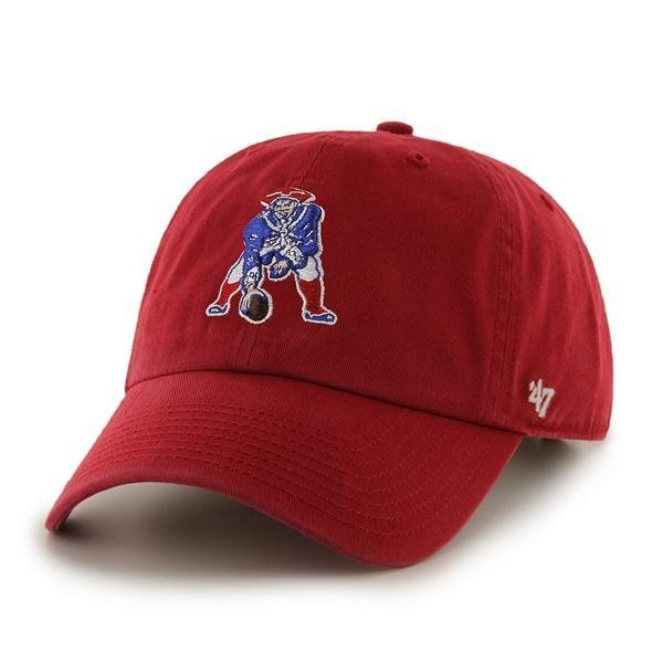 Youth '47 basic throwback cap red