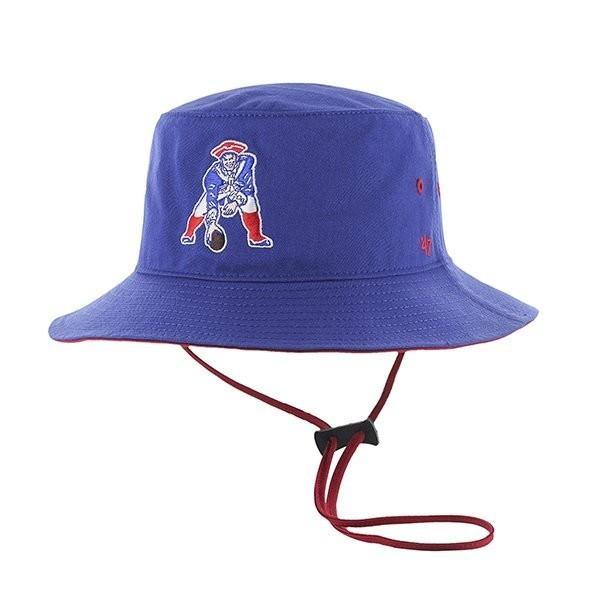 47 Brand Kirby Throwback Bucket Hat-Royal - Patriots ProShop 9b491da82dc