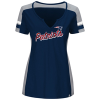 Ladies Majestic Pride Play Top-Navy