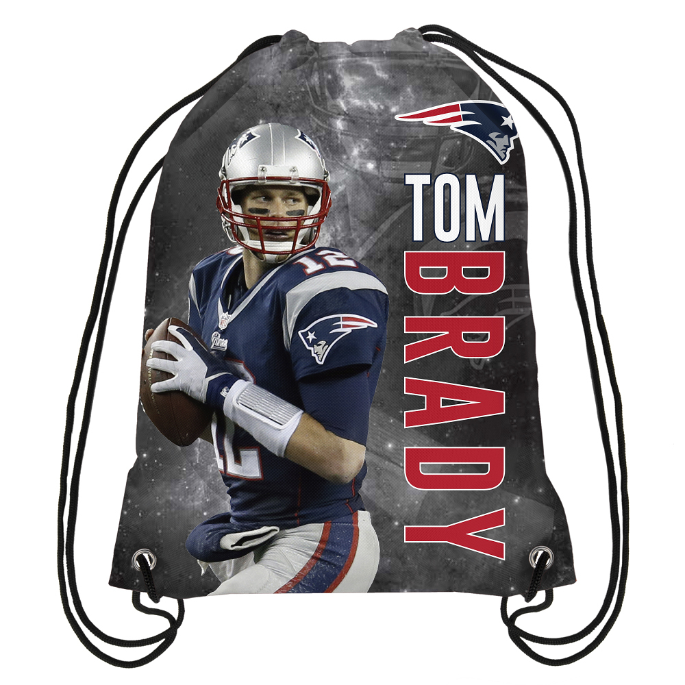 Tom Brady Drawstring Backpack