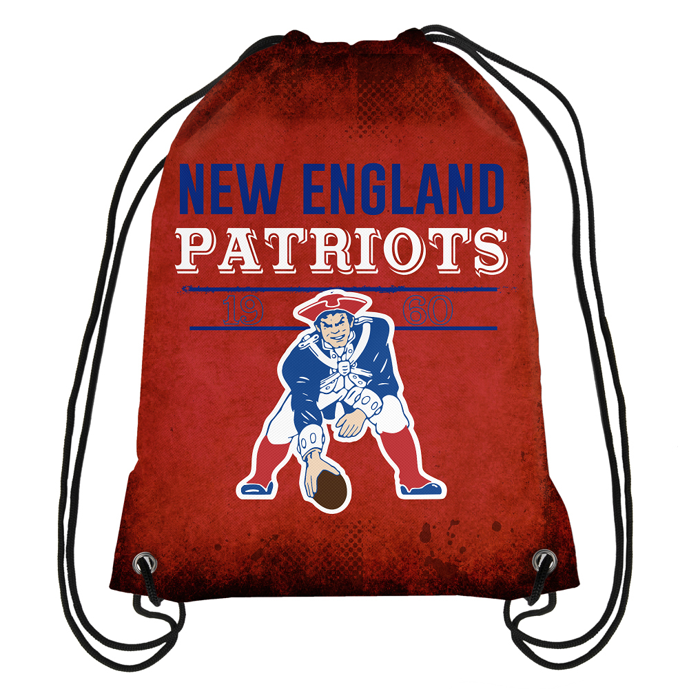 Throwback Drawstring Backpack-Red