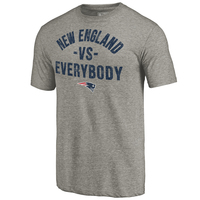 Fanatics New England vs. Everybody Tee-Gray
